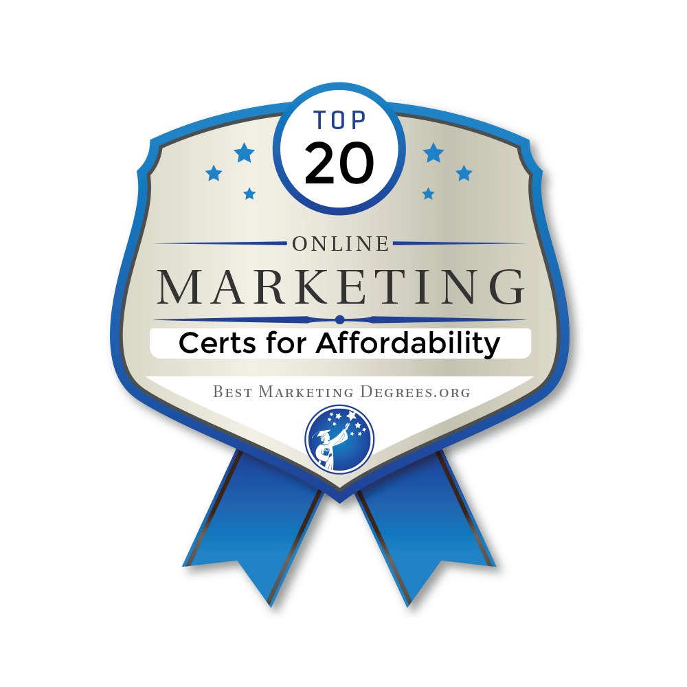 The 20 Most Affordable Online Certificates In Digital Marketing Best Marketing Degrees